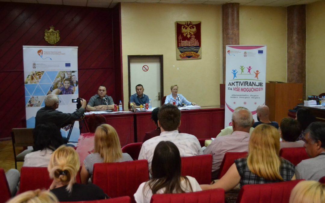 Employment opportunities for persons with disabilities project in Kuršumlija funded by EU